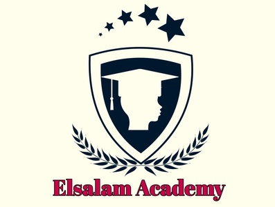 Creative logo design for Elsalam Academy center for kids illustration social media phone logodesign logo designer design art design artwork art