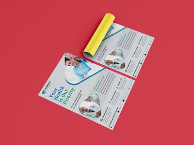Healthcare Flyer Concept event flyer hospital flyer healthcare flyer design flyer brochure design corporate flyer leaflet design handout flyer design business flyer design branding