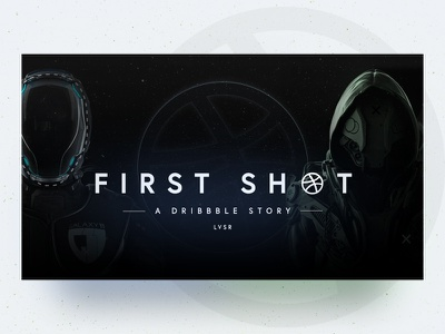 FIRST SHOT - A Dribble Story space suit space first shot