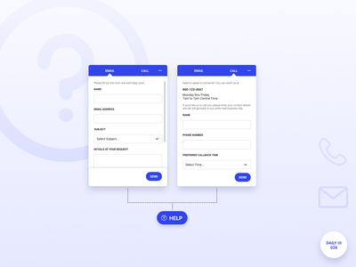 Daily UI 028 - Contact Us contact form contact us form daily ui dailyuichallenge dailyui