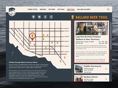 Daily UI 029 - Map beer map daily ui dailyuichallenge dailyui