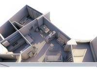 Apartment top angle