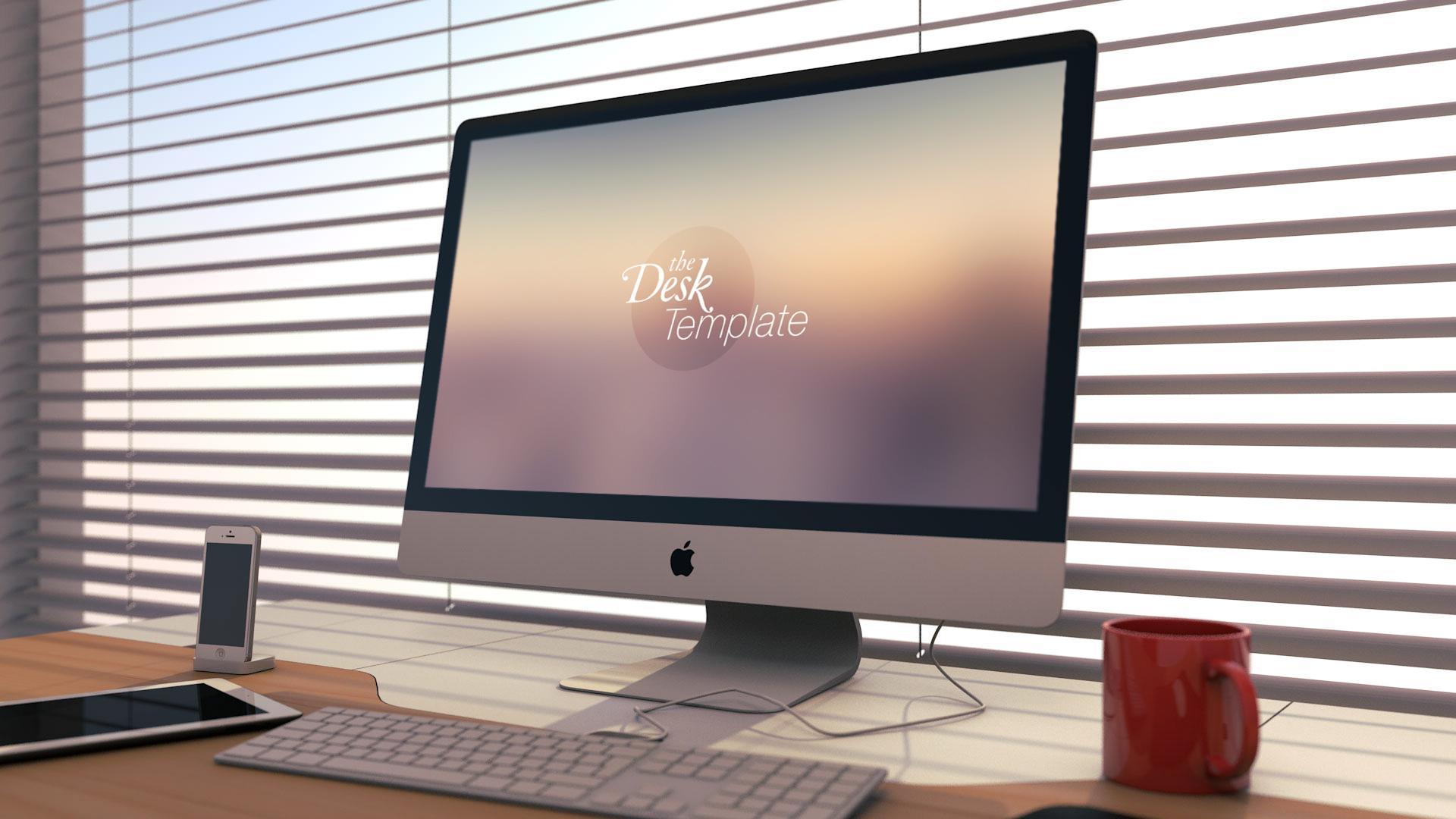 The Desk Template PSD by Jeremy Paul - Dribbble