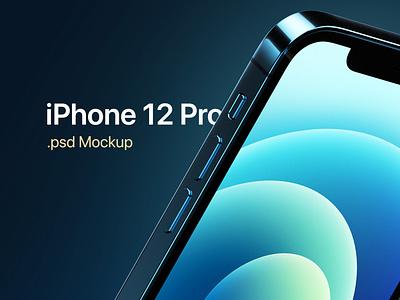 iPhone 12 Pro Template psd photoshop product apple cinema 4d render 3d template iphone