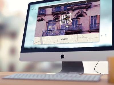 Happy Hours Website
