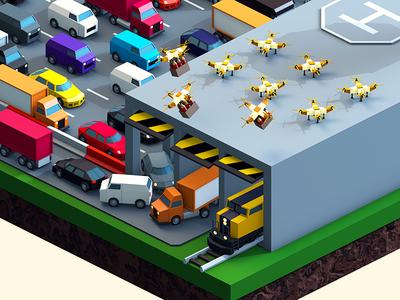 Beerlandia — Vehicles