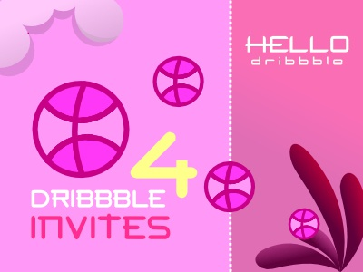 dribbble invites invites invitation