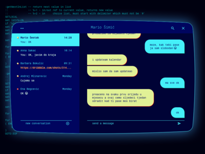 Dos Chat Interface