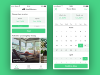 Hotel Booking App UI