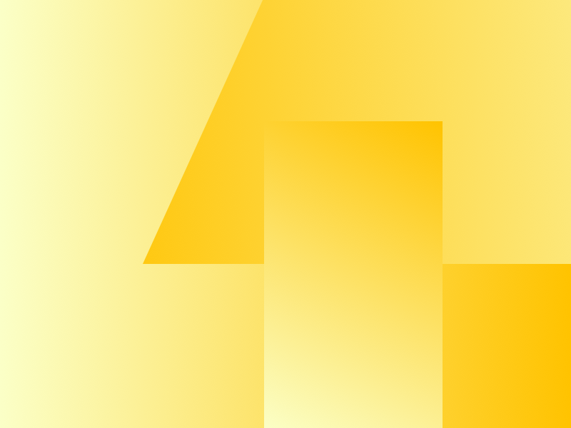 4 material flat geometric 4 number graphic color colour yellow lighthouse london typehue