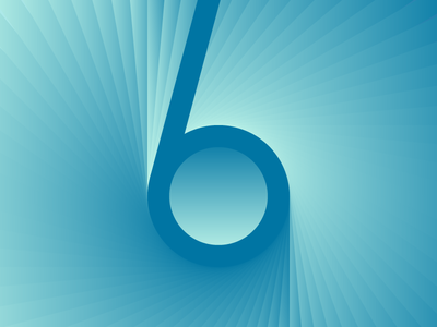 6 by Bartosz Żaczek via dribbble