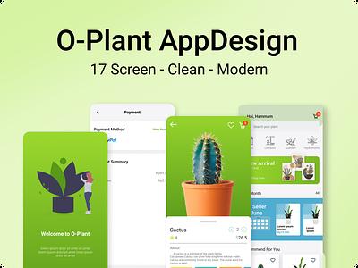 Plant App Design marketplace ui kit kit mobile mobile design app design ux ui design web app
