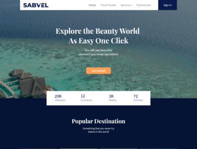 Home Page website branding illustration web ux ui logo design
