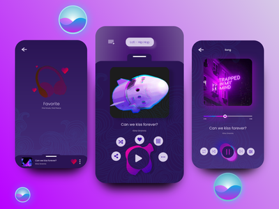 Musix App mobile design mobile app mobile ui user interface design user interface ios app design ios app ios ui design ui music app music player music
