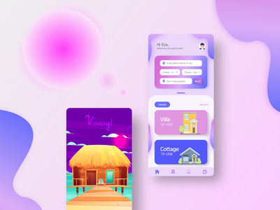 Vacay App vacation rentals vacation rental vacations vacation ux design uxdesign ux  ui uxui ux ui design uidesign ui  ux uiux ui apps screen apps design apps application app design app