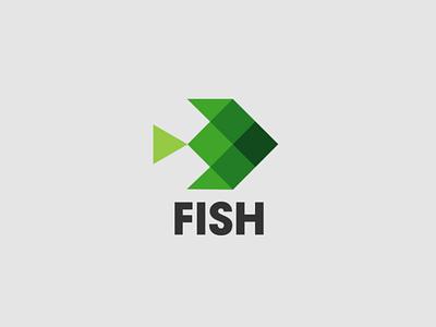 Fish Logo logotipo