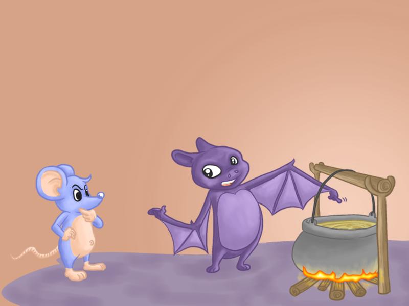 Bat n Mouse origin mouse bat