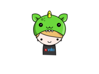Viki Fan With Dragon Hat