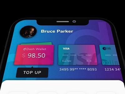 Singtel Dash Early Concept m-wallet e-wallet payment app mobile