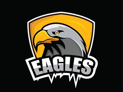 esportlogo eagles art designgraphic ilustration design eagles animal logo esportlogo