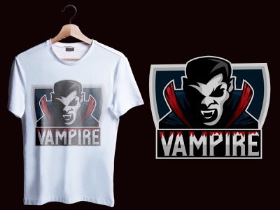 esportlogo vampire cool design art ilustration designgraphic design vampire halloween esports logo esportlogo