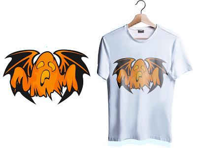 haloween ghost tshirt ghost halloween design ilustration art design graphic design esport logo esportlogo
