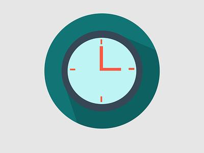 business flaticon clock grapicdesign timer work symbol company clock icon flat business