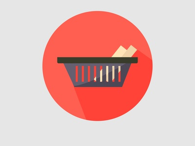 business flaticon document basket graphicdesign symbol company work basket document icon flat business