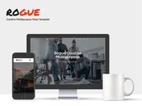 ROGUE - Creative Multi-purpose MUSE Template
