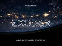 Exodar - Futuristic Font