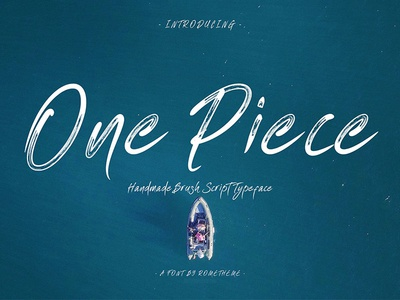One Piece - Typeface