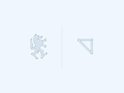 Alexunder Hess concept mark construction vector design minimalist elegant branding design logo design logo visual identity branding brand identity
