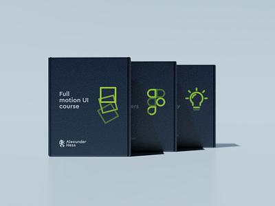 Alexunder Hess packaging concept bold font minimalist branding design logo logo design visual identity typography branding brand identity package design packaging