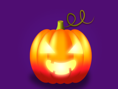 Happy Halloween (Illustration) design logo icon vector illustration