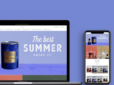 Parfumerie2lux design webdevelopment webdesign web ui shopify theme shopify store shopify ecommerce branding