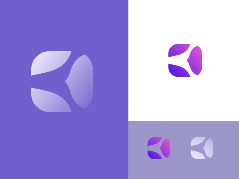 Square logo vector typography organic modern logotype designer branding logo ios illustrator identity icon flat dribbble design creative app branding corporate