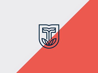 T Mark identity logo icon collateral denver coffee