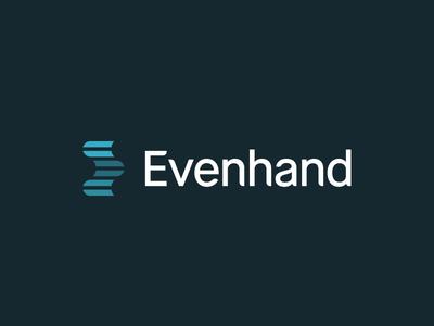 Evenhand Identity logo naming identity symbol evenhand