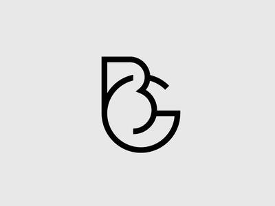 BG Monogram bg identity logo monogram