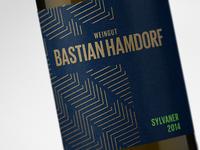 Weingut Bastian Hamdorf Winelabel