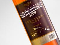 Rio Brazos Distillery Texas Bourbon Whiskey