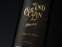 The Grand Zin Wine Label
