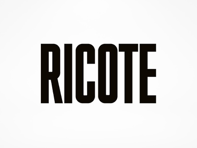 Ricote Wordmark custom type wine label design wine label wine typography packaging label bottleshot