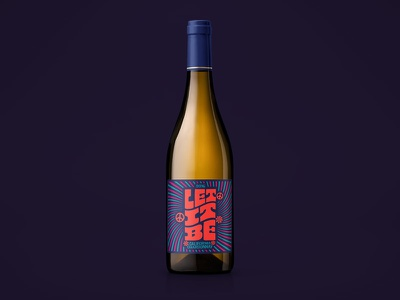 Let It Be Wine Label label design wine label design wine label wine typography bottleshot packaging label