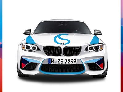 Car Branding - faisalbhatti minimal typography illustration website branding identity flat icon