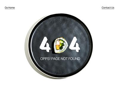 404 Page design dailyui 008