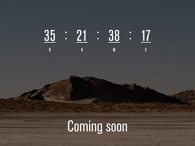 Countdown Timer 014 dailyui
