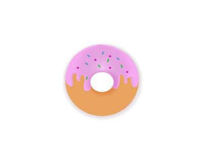Donut icon content creation designer artist adobe illustrator illustrator food illustration food