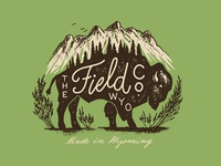 Field Co Bison Illustration