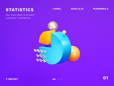 3D icon practice blender icon 3d isometric design